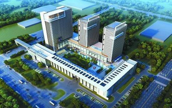 紫金(新港)科技创业特别社区、 监控系统